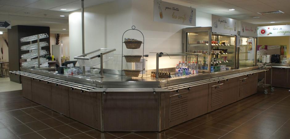 Medinox installation grande cuisine en r gion parisienne for Cuisine pour collectivite